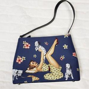 Handbags - NEW Retro pinup girl and dalmatian puppy bag